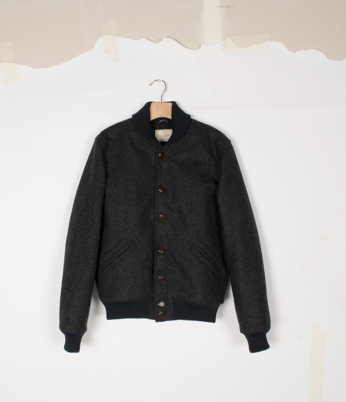 Club Jacket - Dark Charcoal - $475