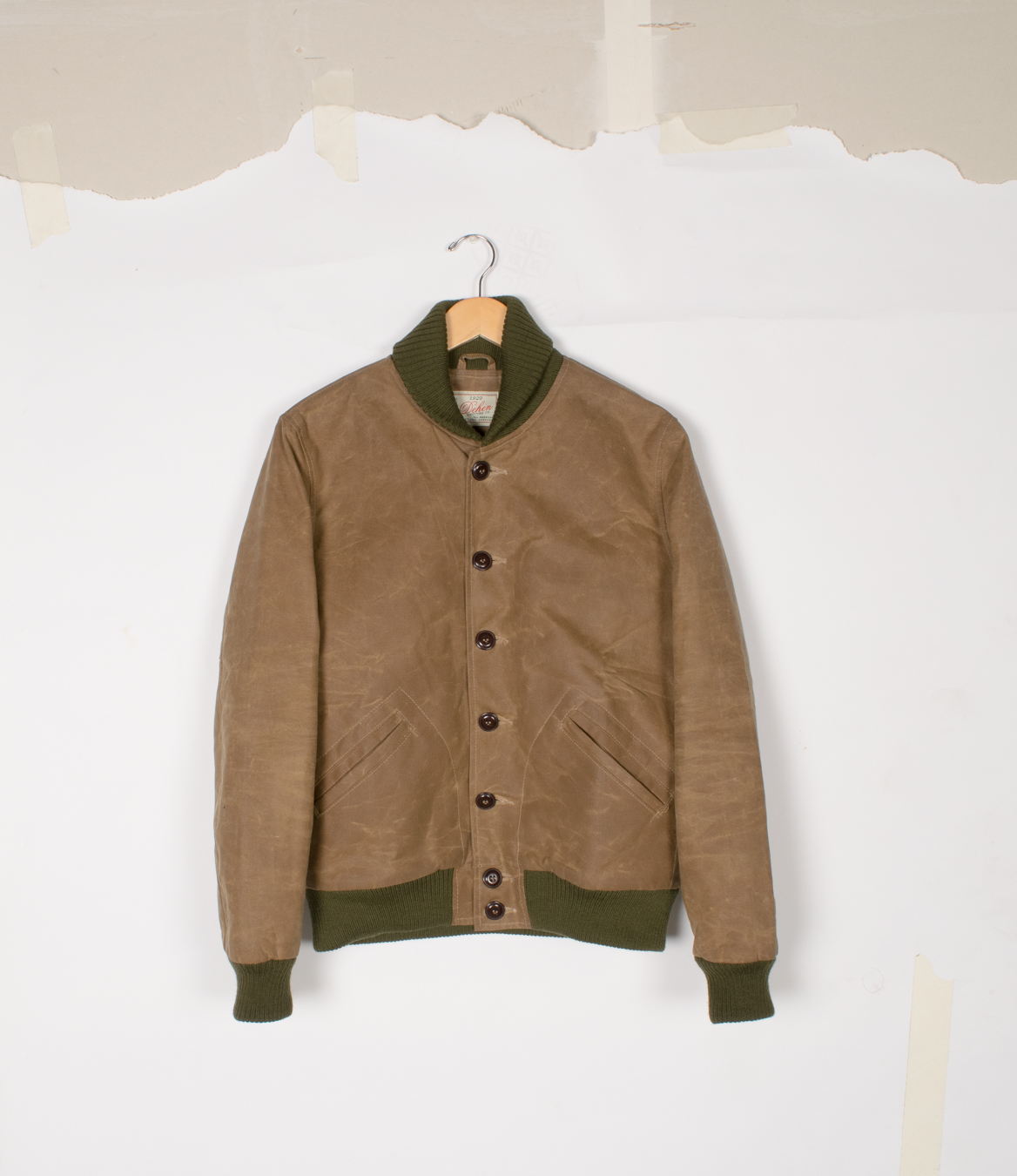 Club Jacket - Field Tan Waxed Canvas - $475