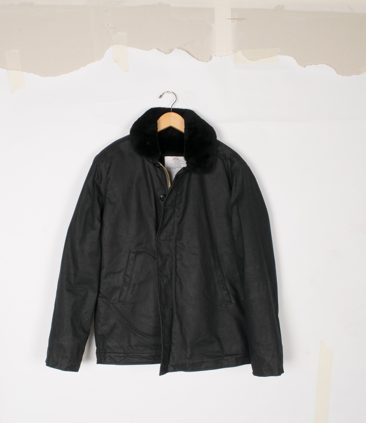 N-1 Deck Jacket - Black/Black - $1250