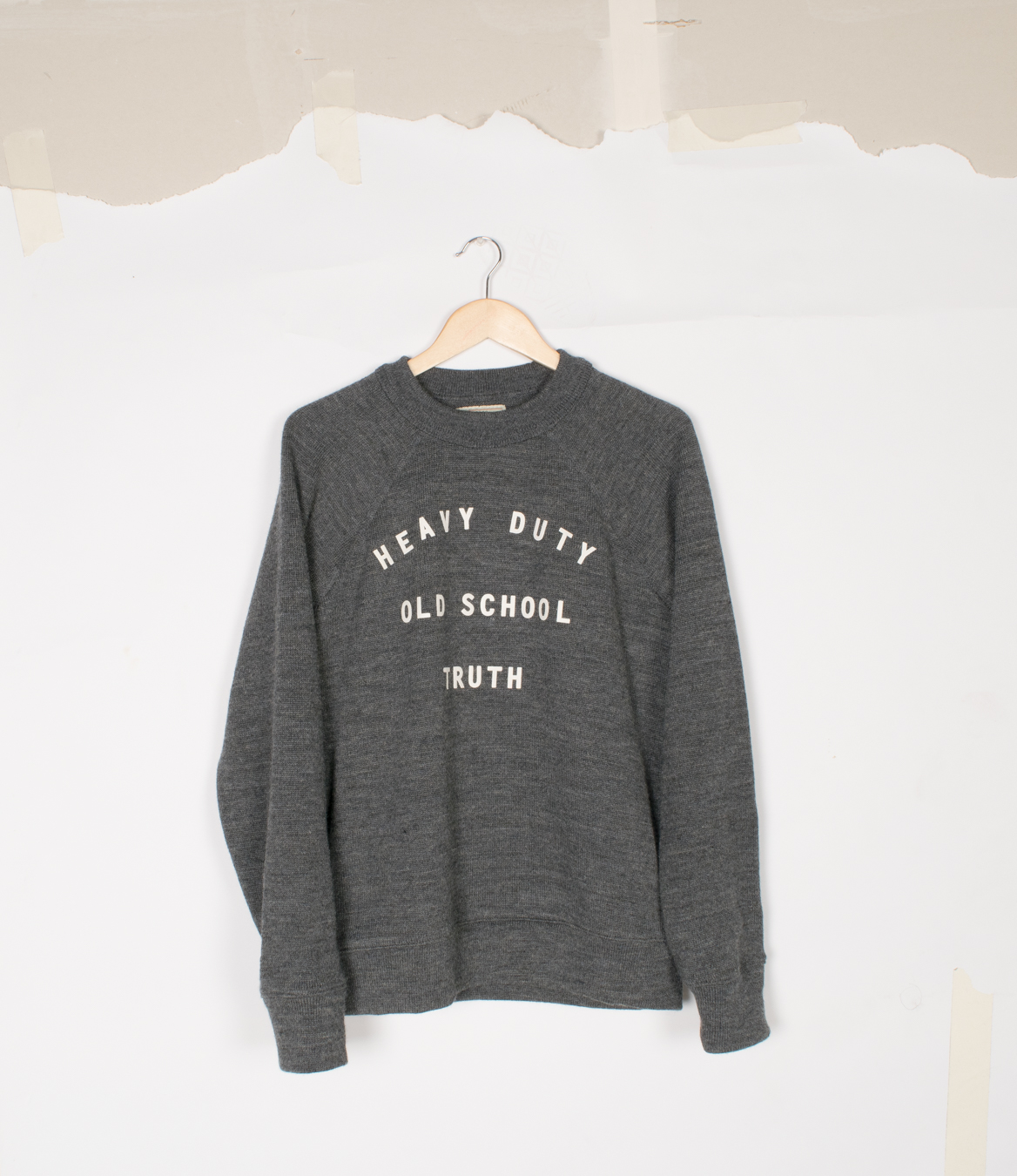 Crew Neck - Charcoal -$140/$285 | With Decoration $145/$295