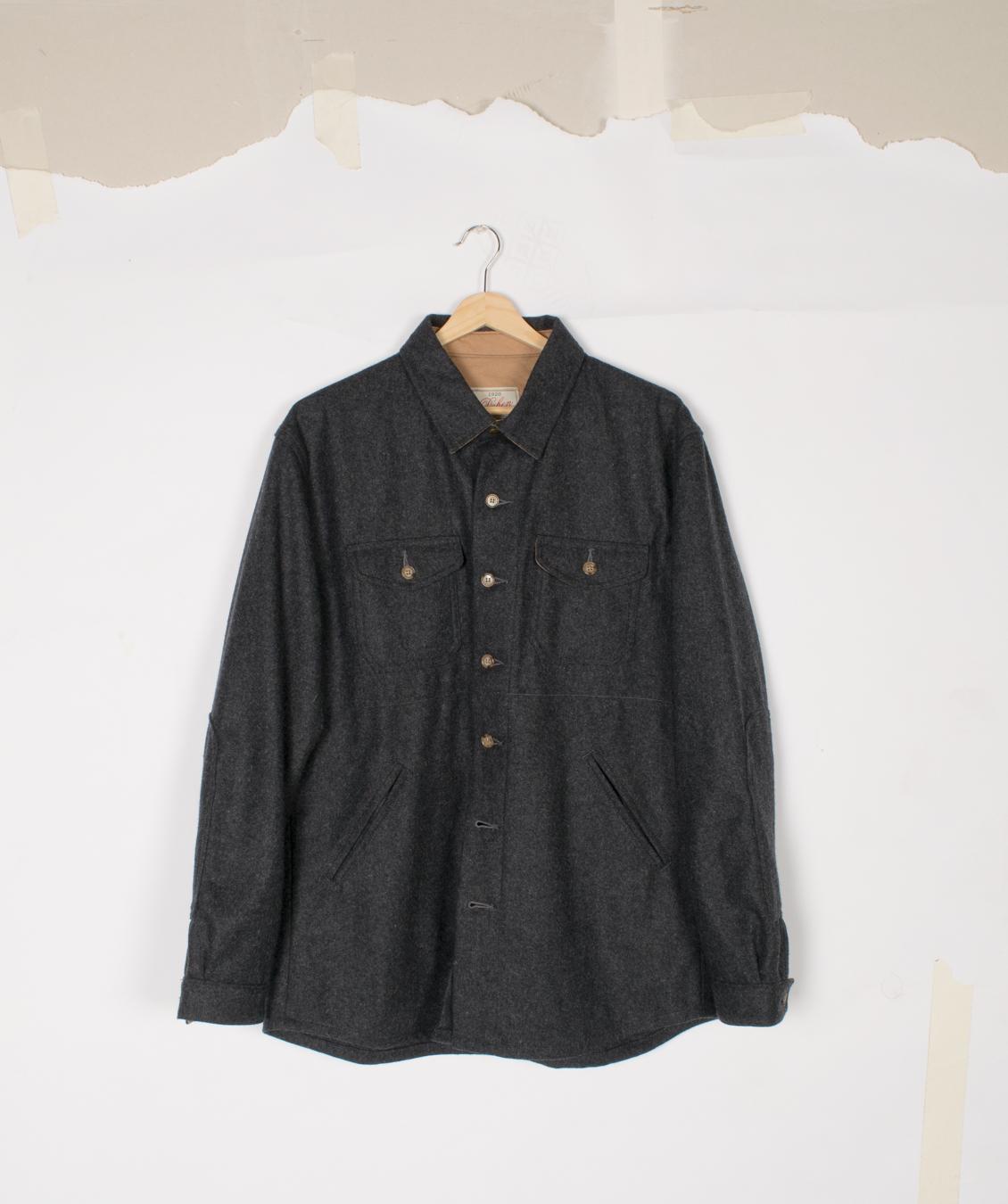 Crissman Overshirt - Charcoal - $145/$295