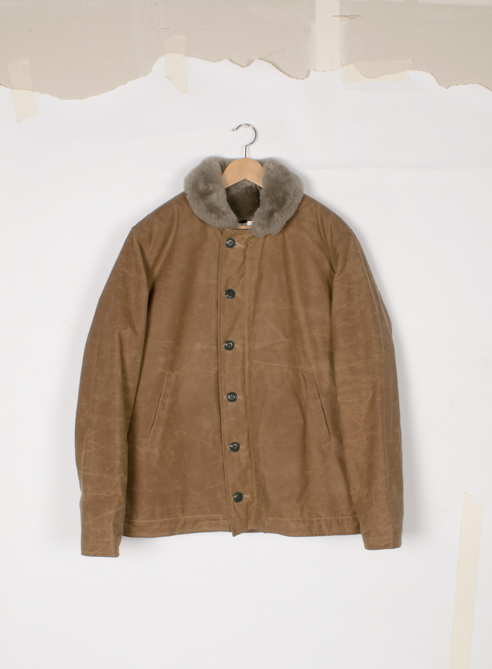 N-1 Deck Jacket - Field Tan/Grey - $1250