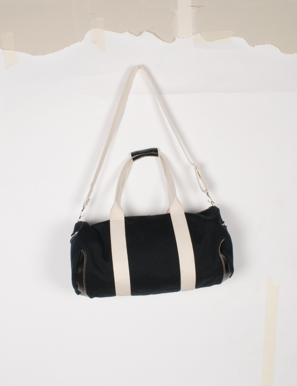 Knit Duffel Bag - Black - $320