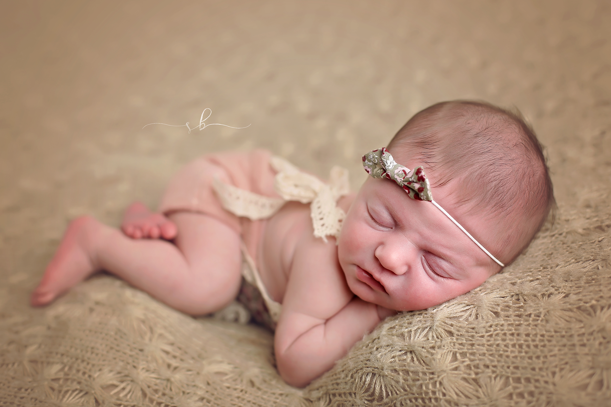 Aurora at her newborn session <3