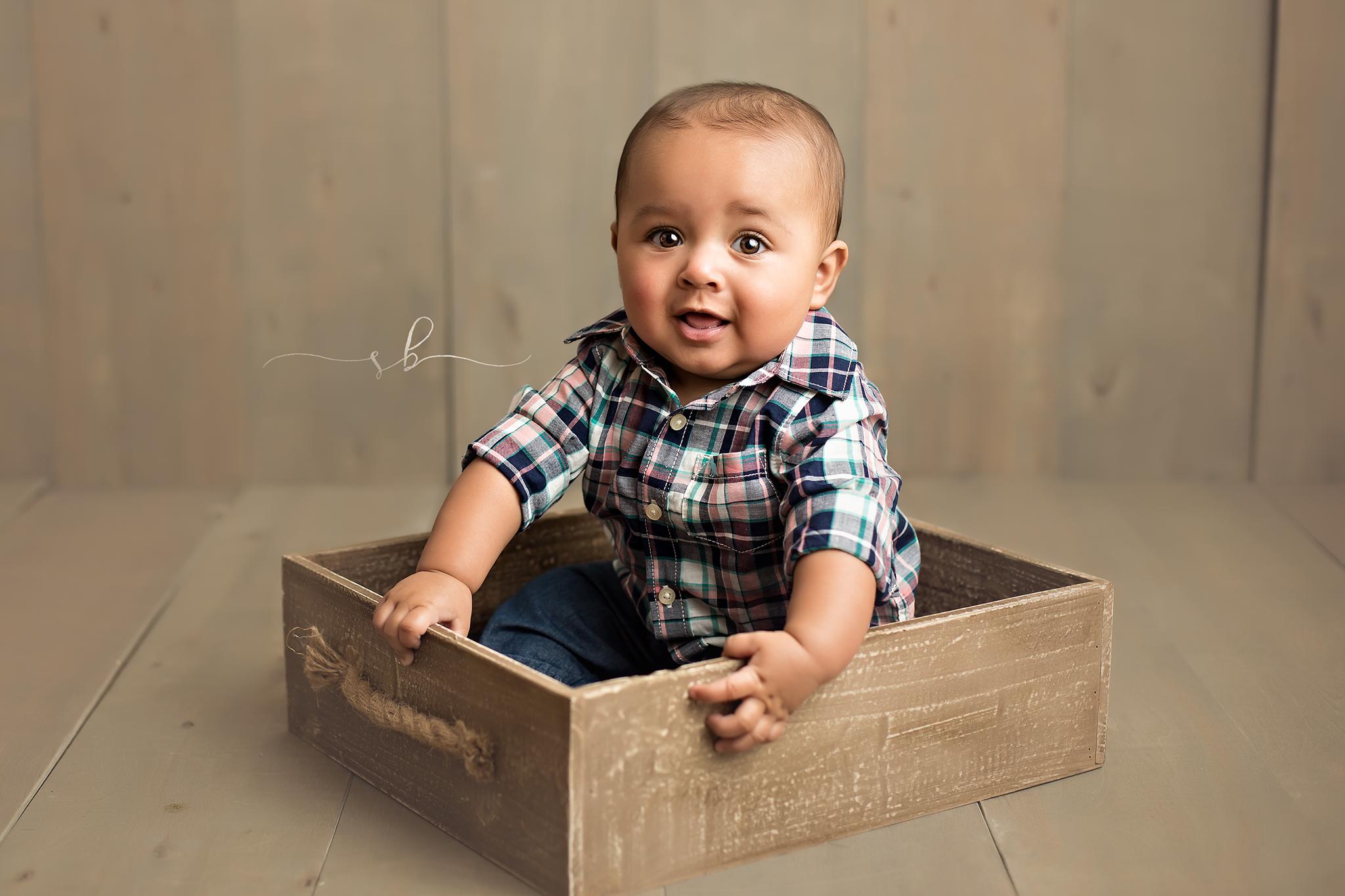 boy in box
