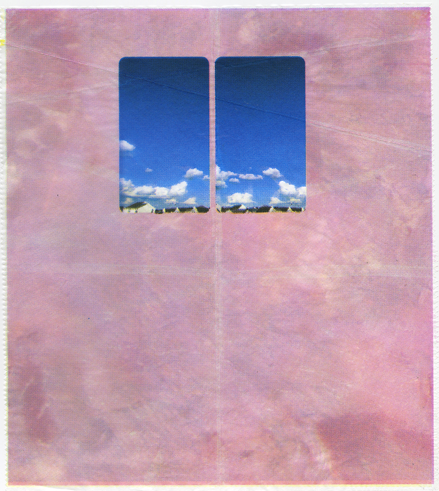 "A Cold Cut Above, 2018, CMYK silkscreen on deli wax paper, 10.75"" x 12"""