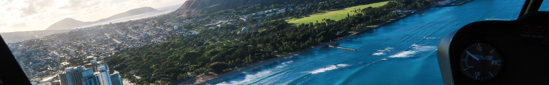 Waikiki by Heli