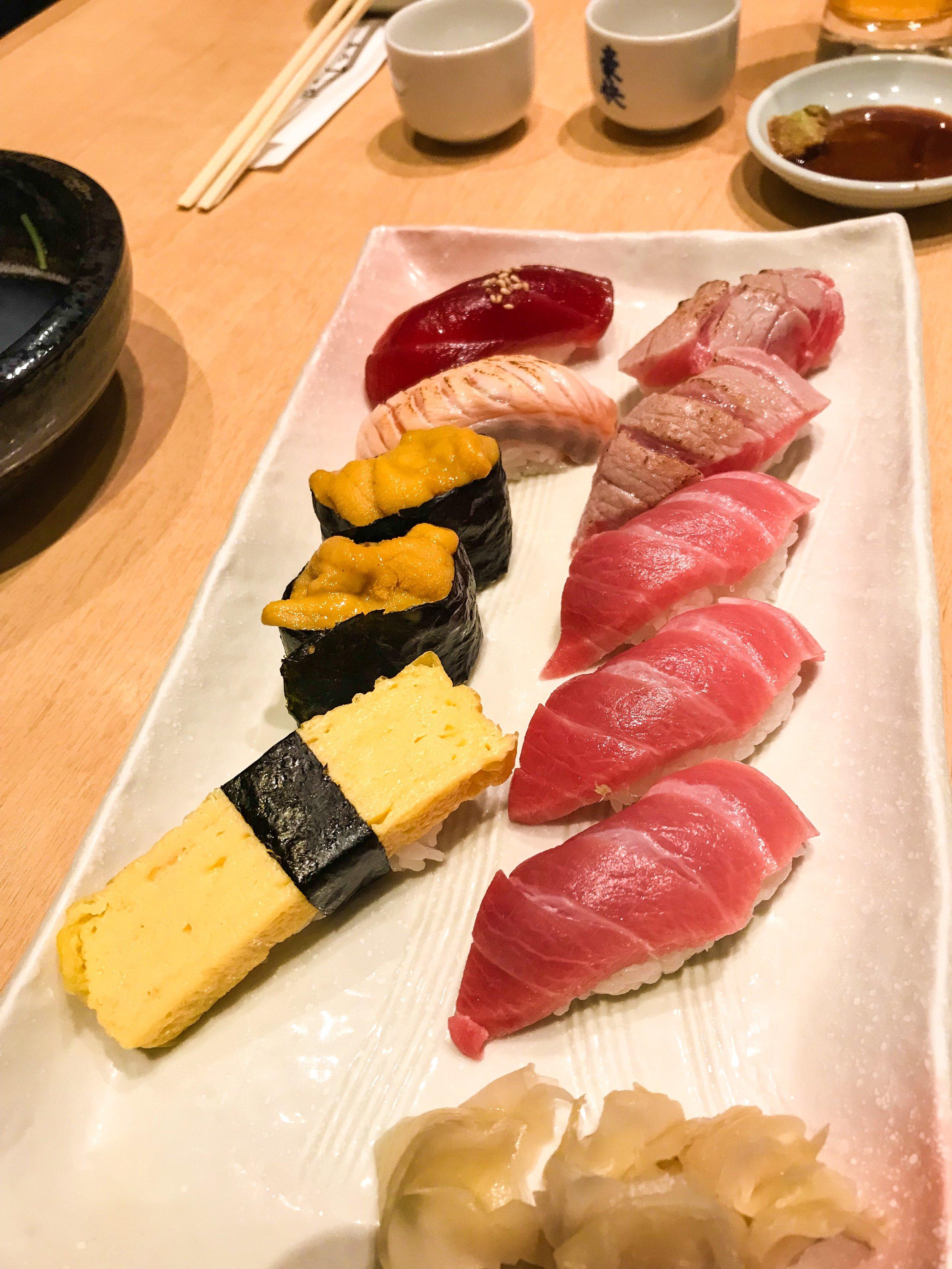 Divine Tio Japan Tokyo Sushi