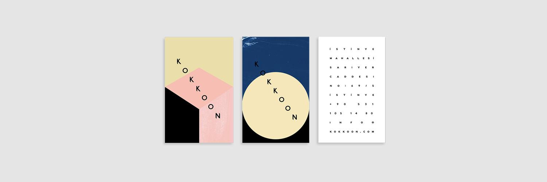 Kokkoon identity designed by  folyofoni
