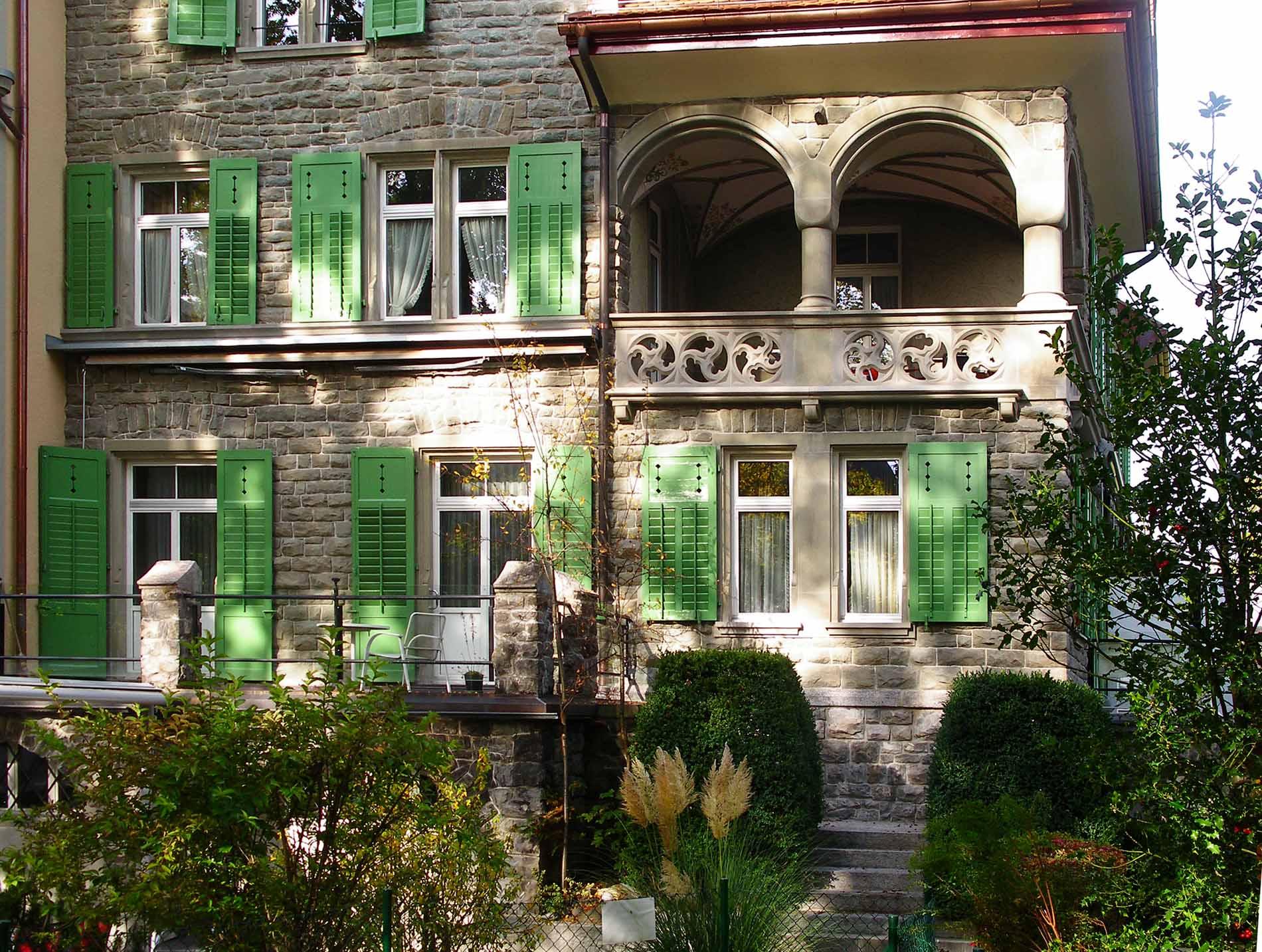 Fassadensanierung Stadthaus