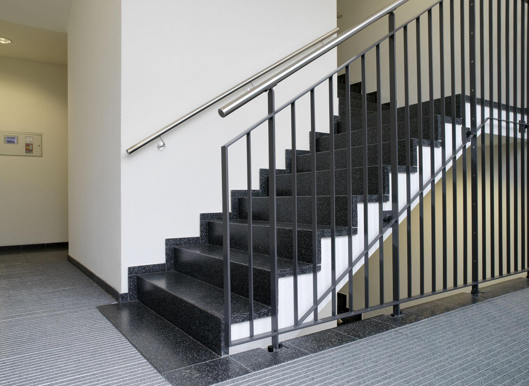 Treppe aus Kunststein