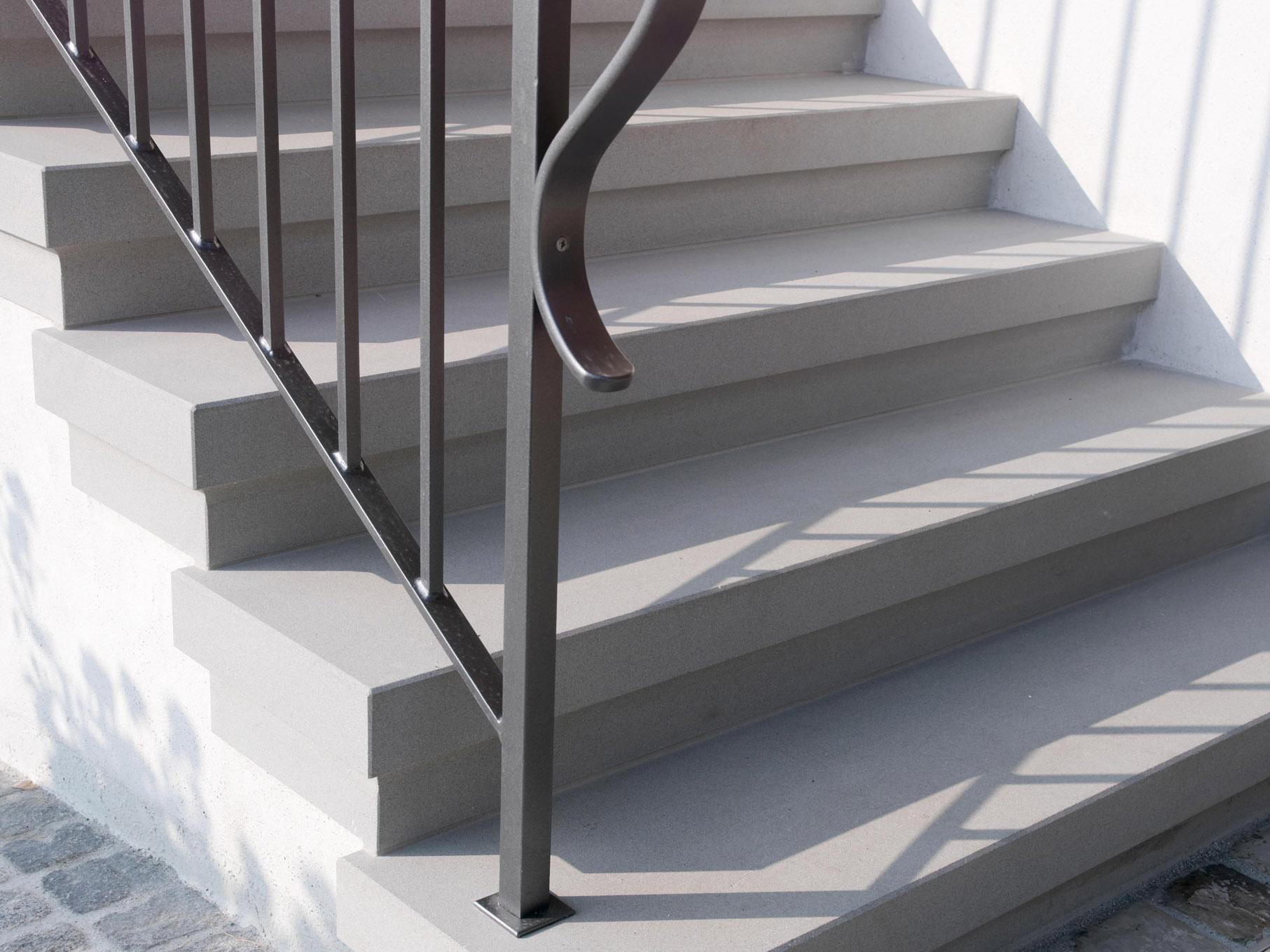 Sanierung Natursteintreppe