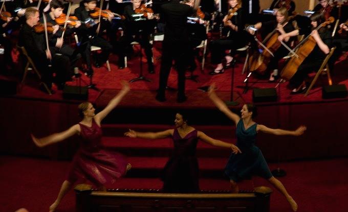 Debussy's Petite Suite with dancers of UW School of Dance, June 5, 2010 at Daniels Recital Hall