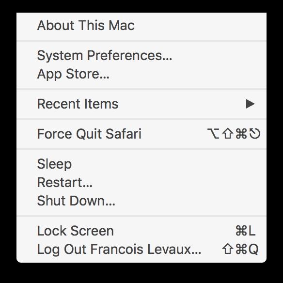 High Sierra: Set a Global Shortcut to Lock Screen — Mac Lovin'