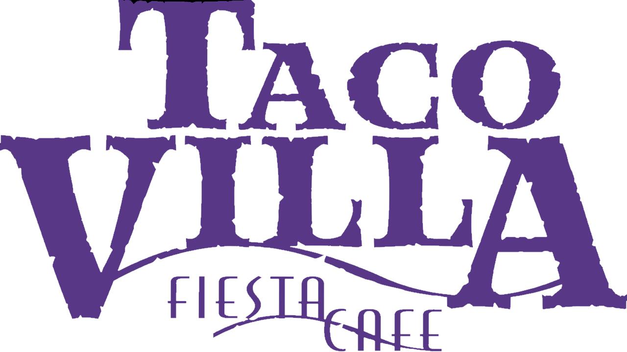 Taco Villa Fiesta Cafe logo in blurple.png