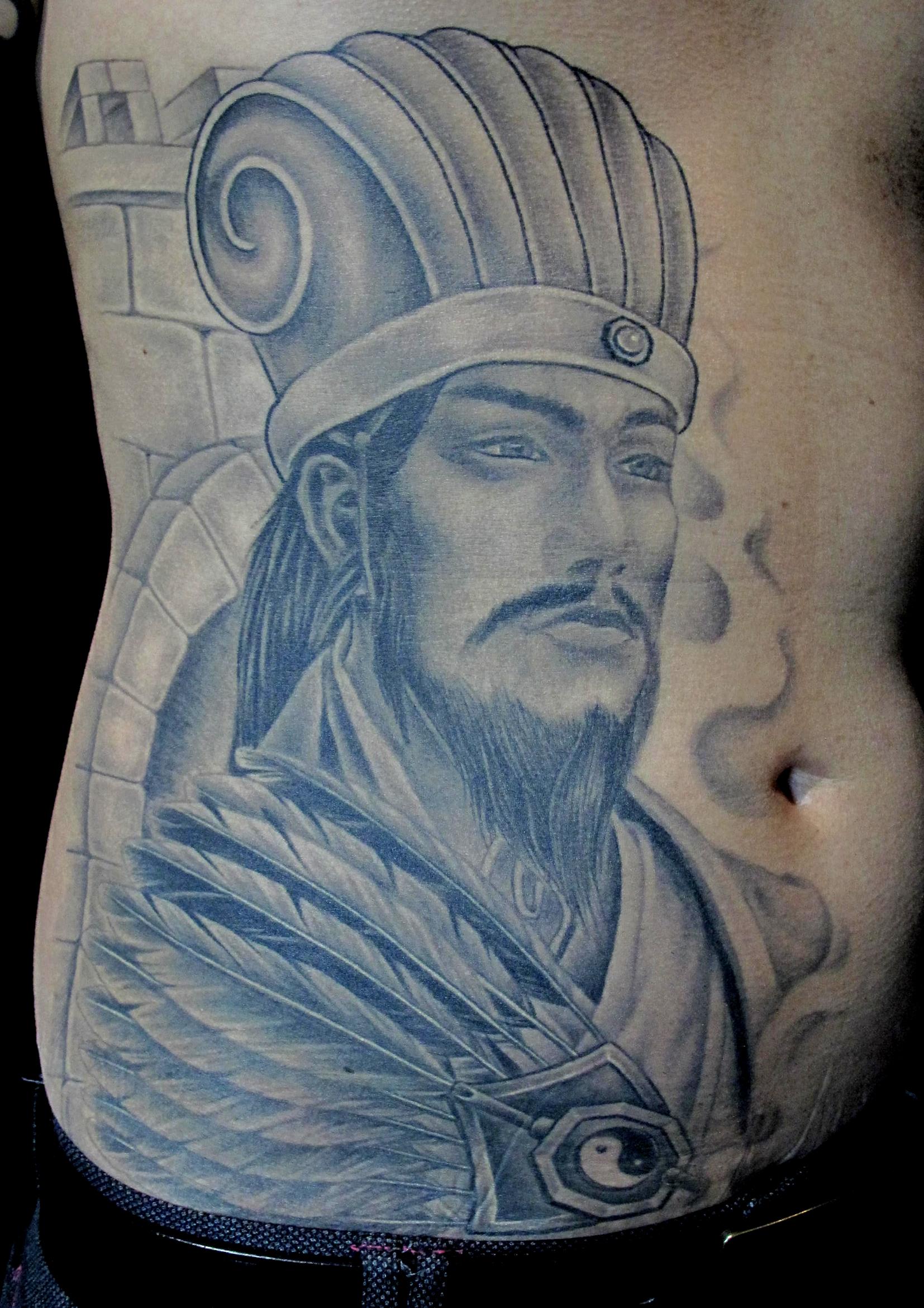 Zhu Ge Liang on stomach.jpg