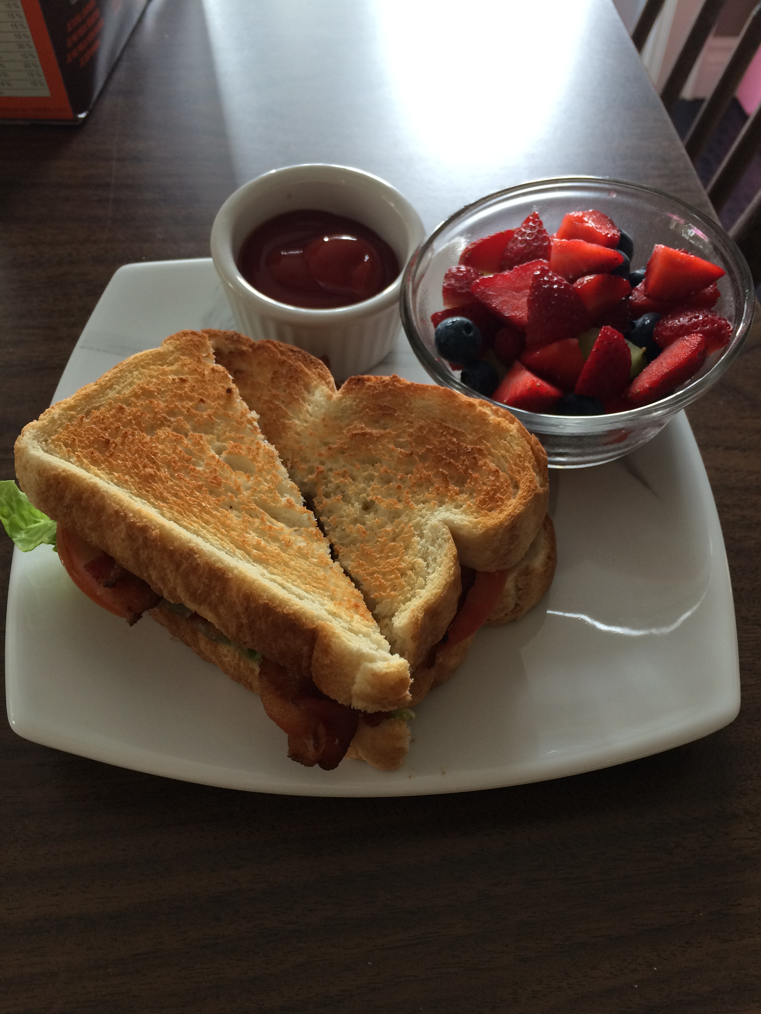 BLT with Seasonal Fruit Cup