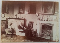 Woman in her parlour (at Nancealverne?)