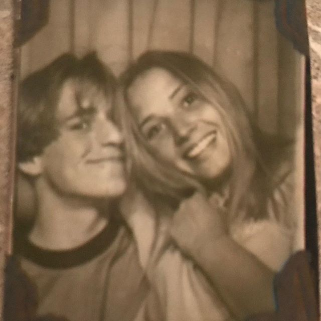 Me and sis from back in the day.