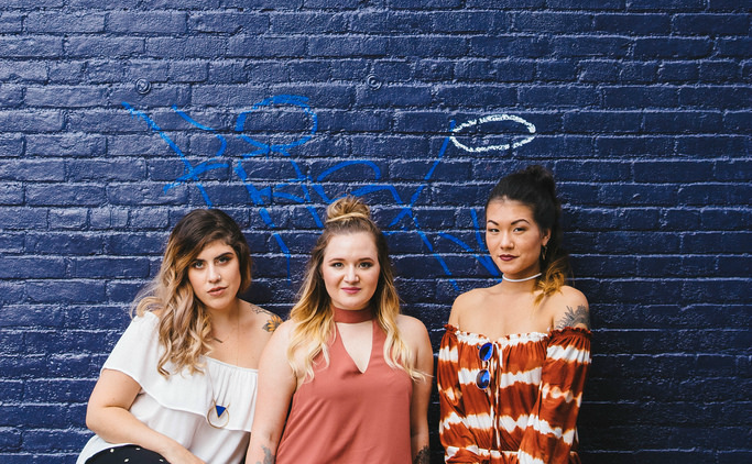 Models: Julie, Danielle and Shae-Li of  30th and Weldon . Wardrobe provided by  Brightside Boutique . Hair and makeup: Courtney McCormick. Photography and creative direction by me. Shot on location in the Fells Point District of Baltimore.