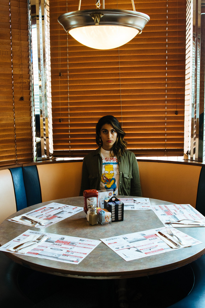 Saalika Khan at the Nautilus Diner. Photography, creative direction and styling by me.