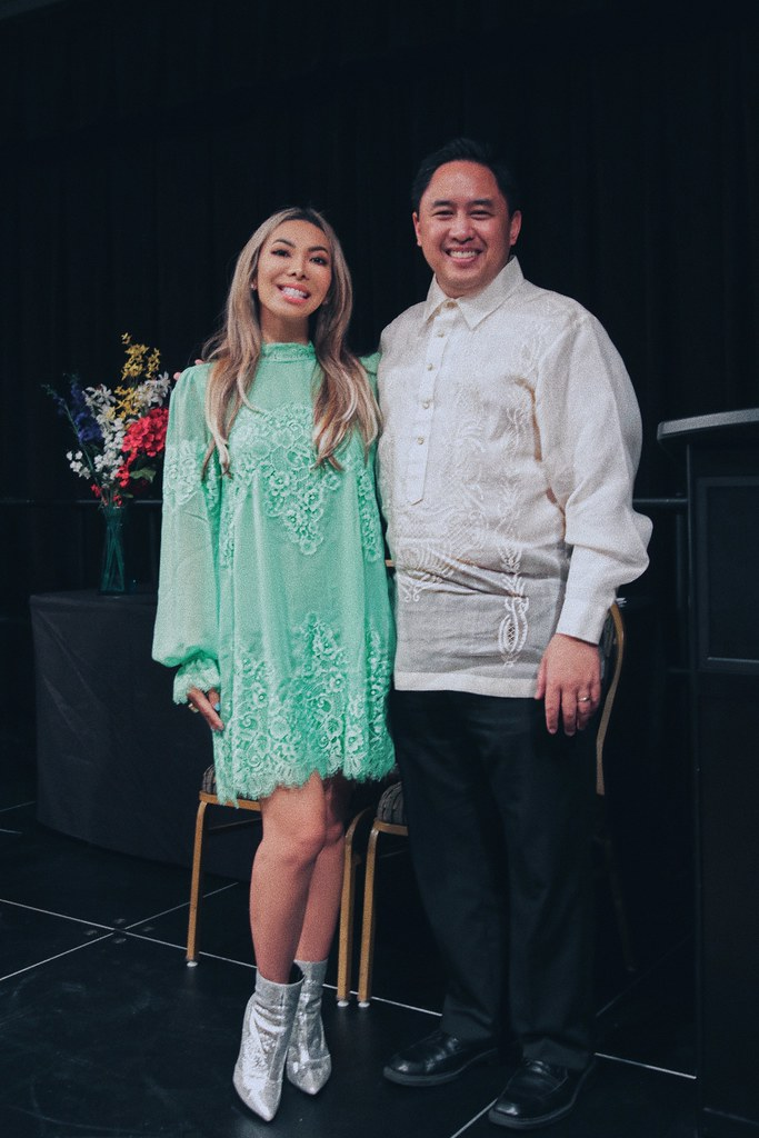 Philippine American Foundation for Charities 2019 PInoy Graduation Showcase. Here I am with my good friend and cohost, Brian Marana.