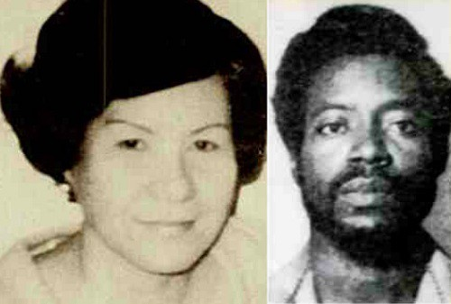 Left: Teresita Basa, murdered on February 21, 1977. Right: Allen Showery plead guilty to Teresita's murder. Source: chicagonow.com