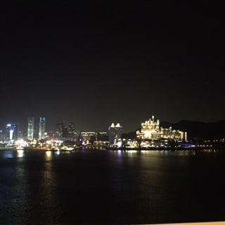 Bright lights, big city.