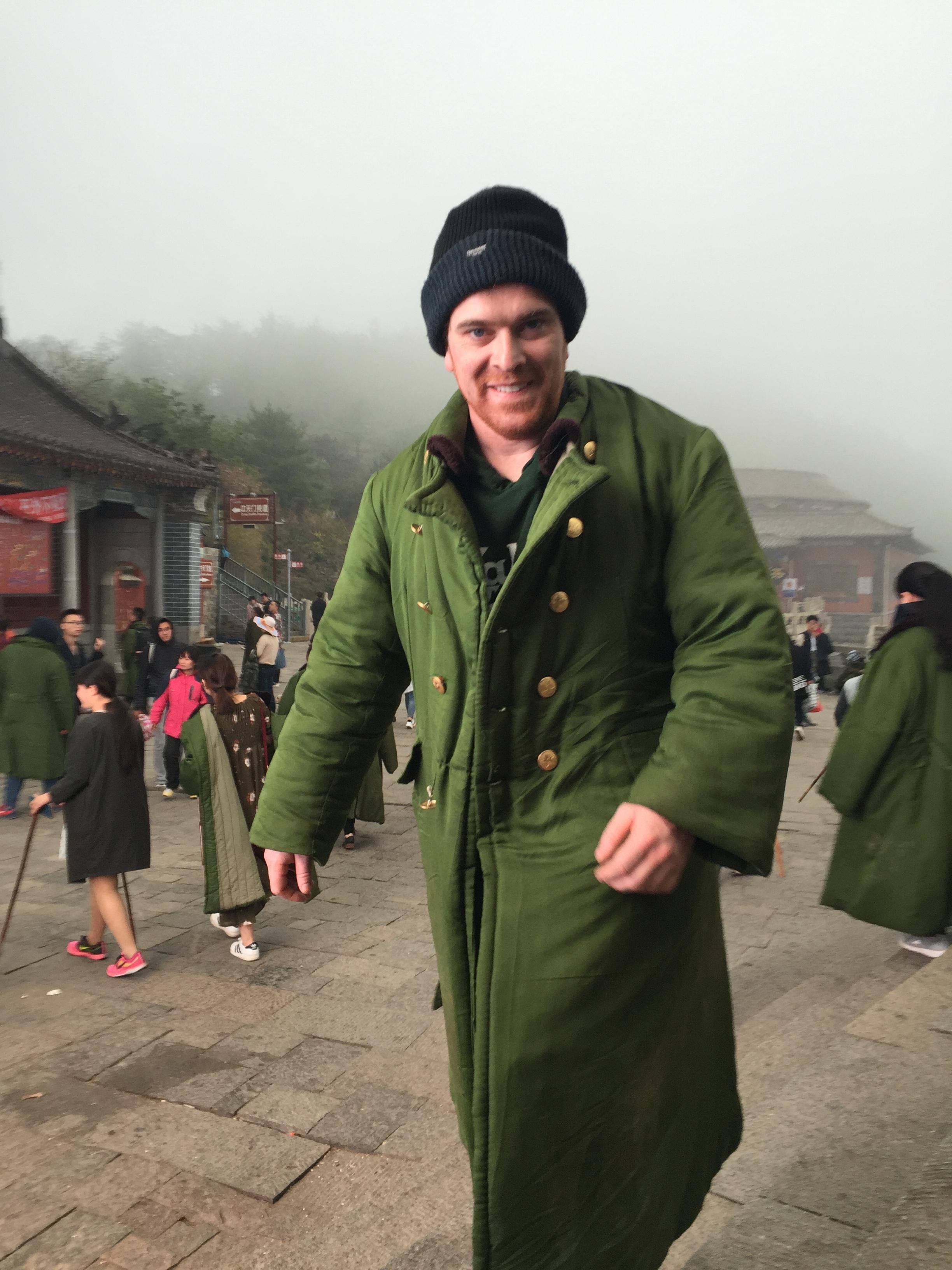 Cold Irish fella.