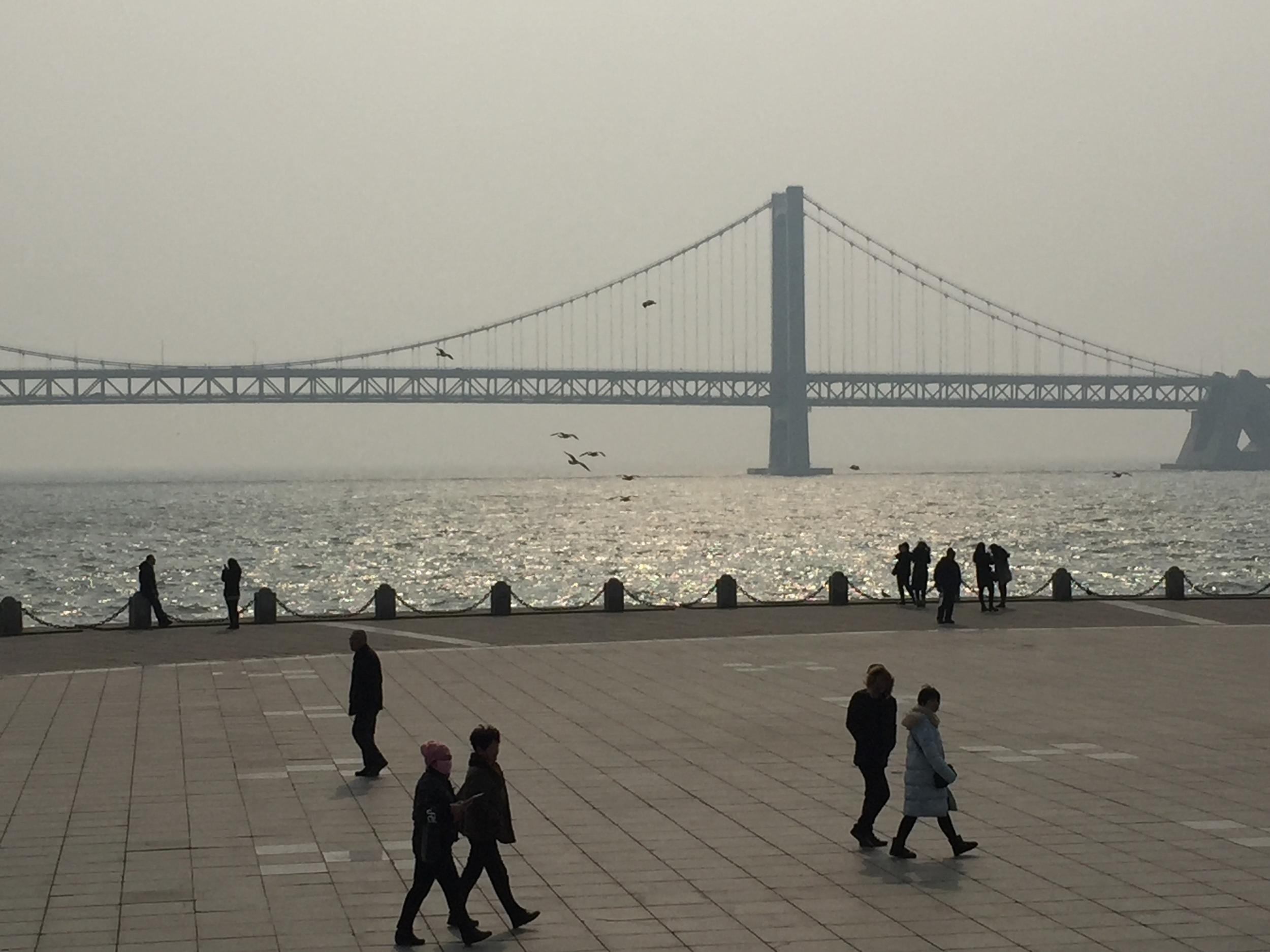New bridge.