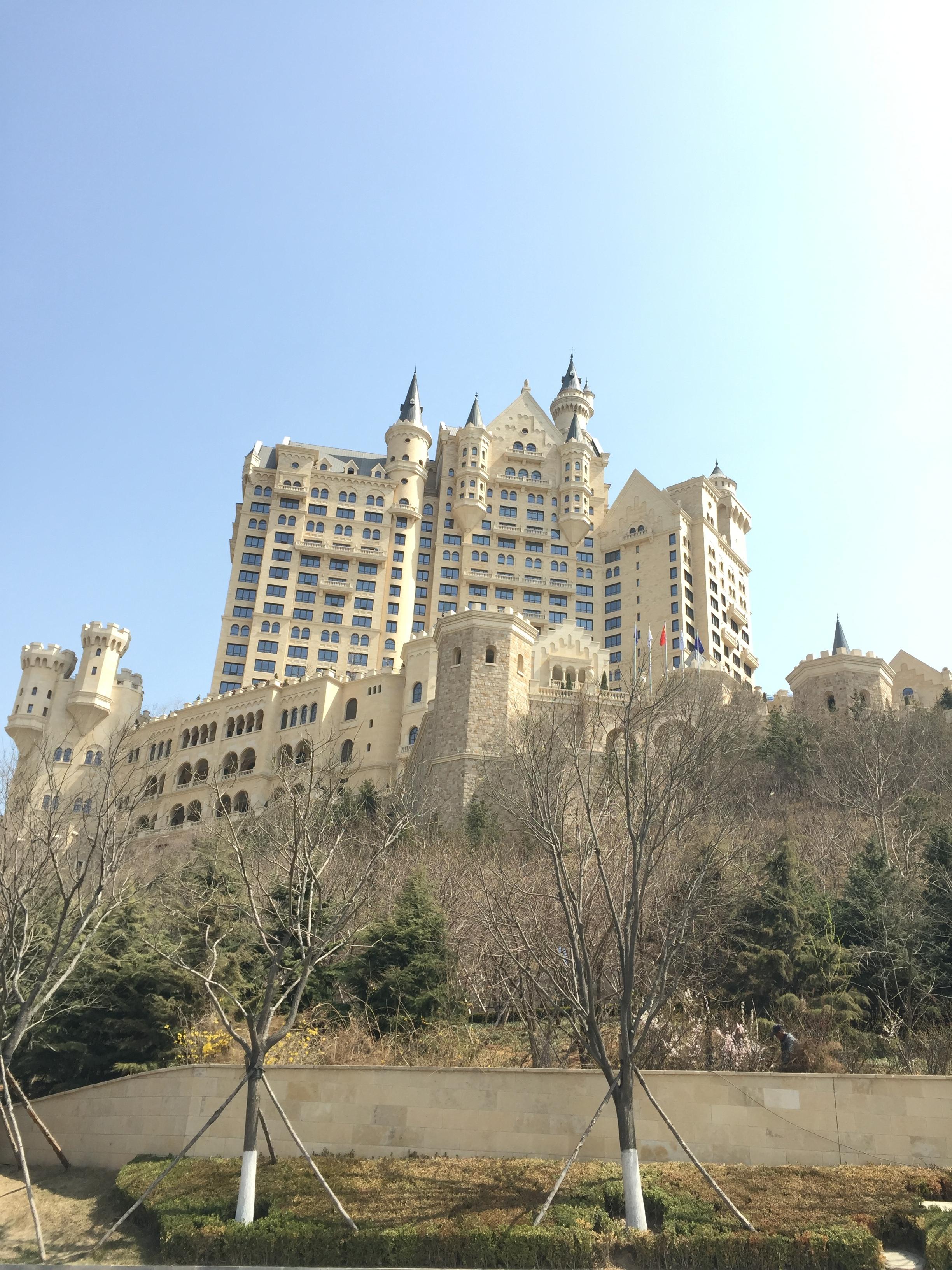 Castle hotel.
