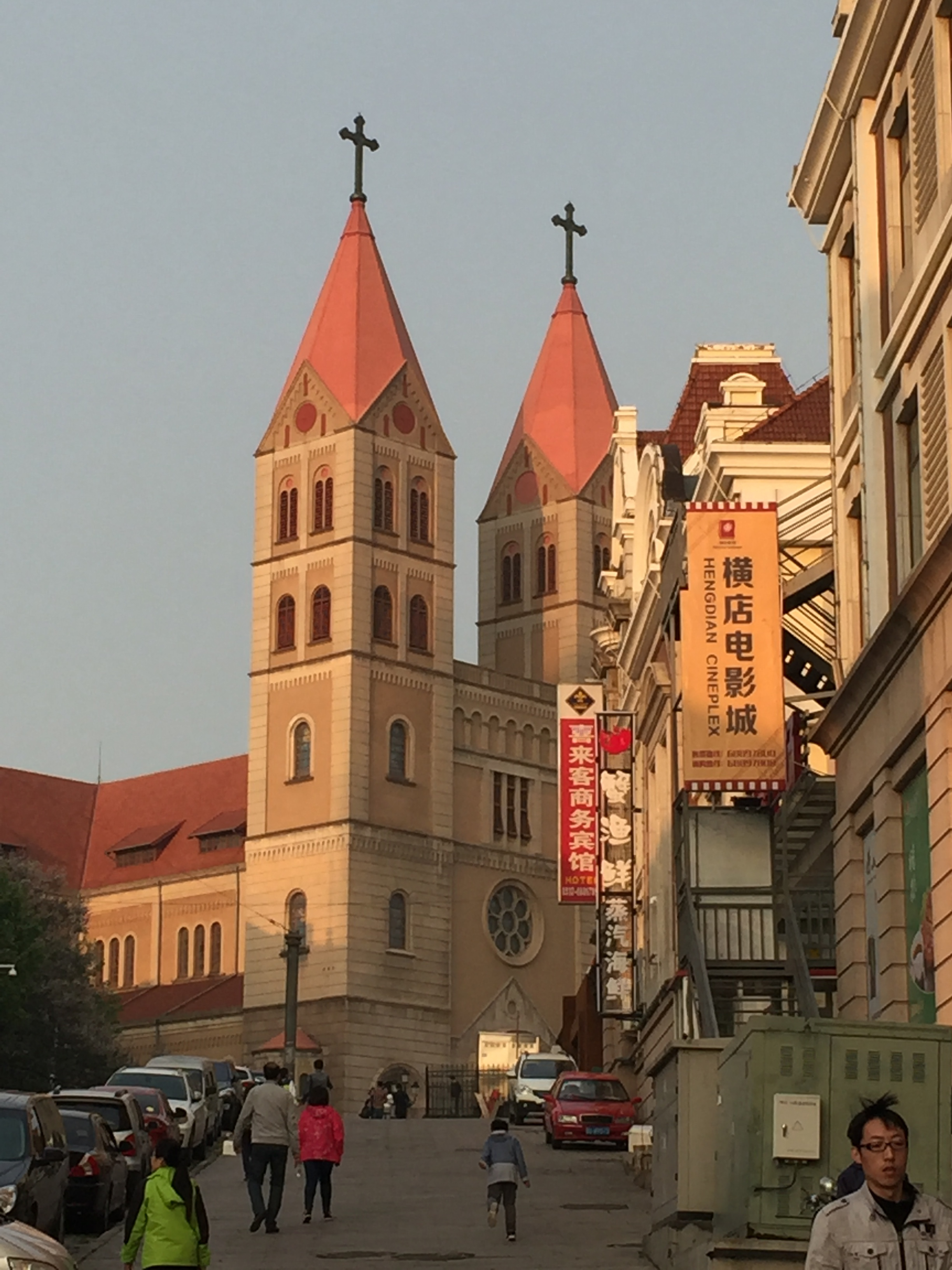 St. Michael's cathedral.