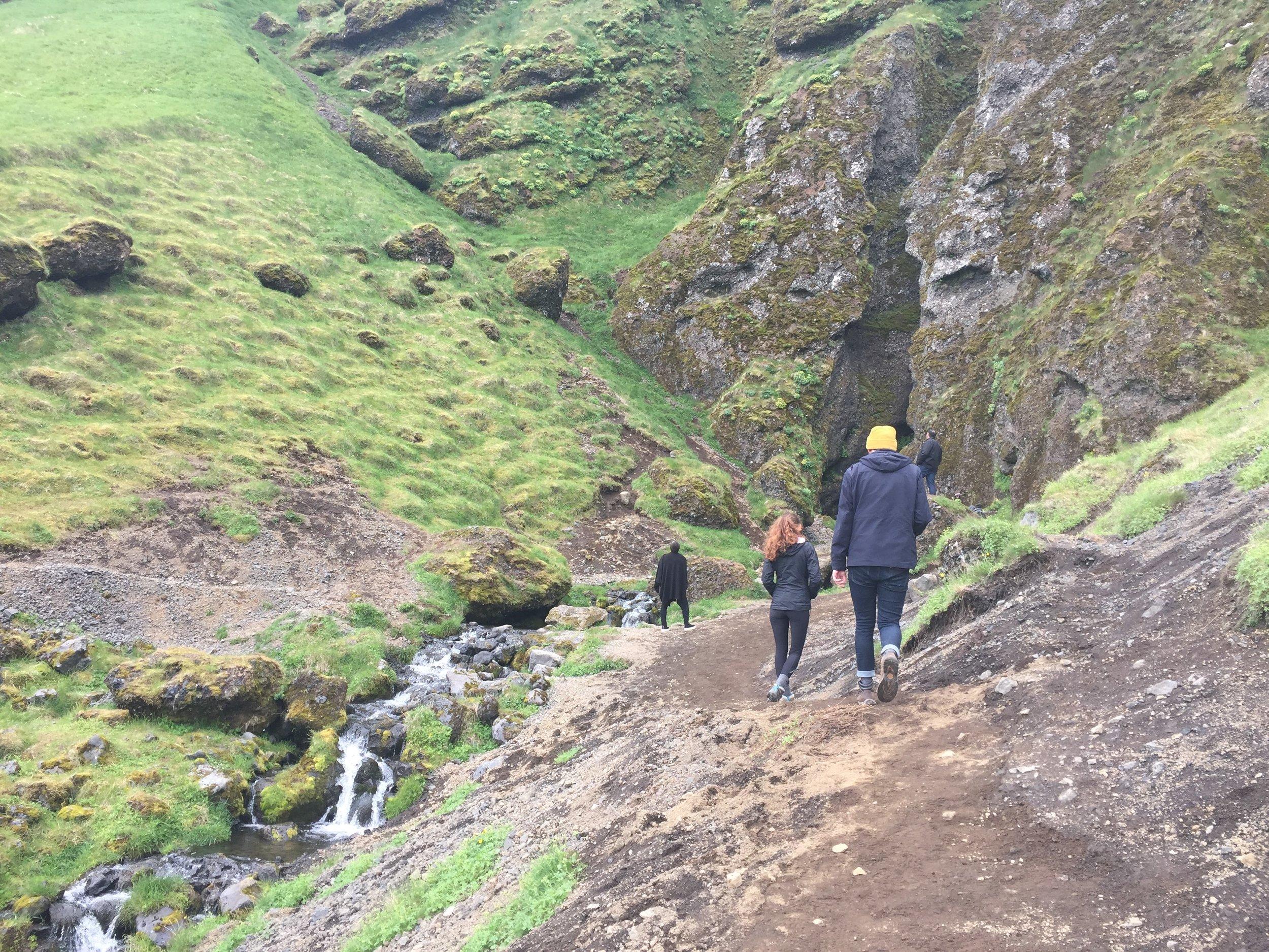 Rauðafeldsgjá Gorge