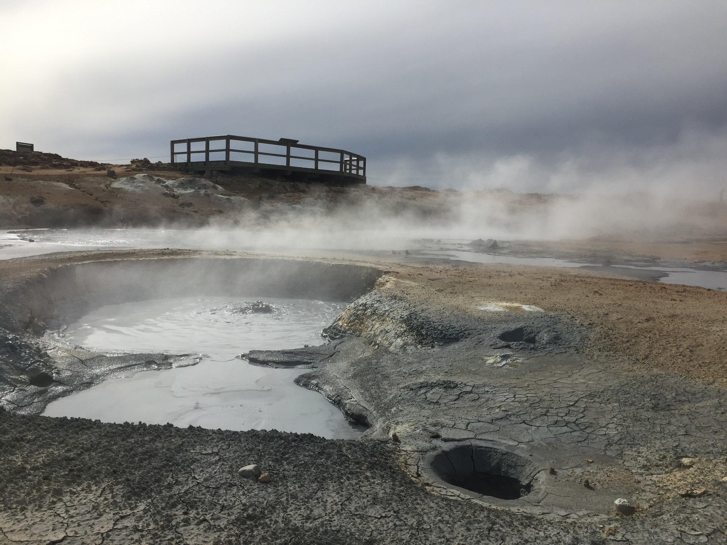 Námafjall Hverir geothermal area