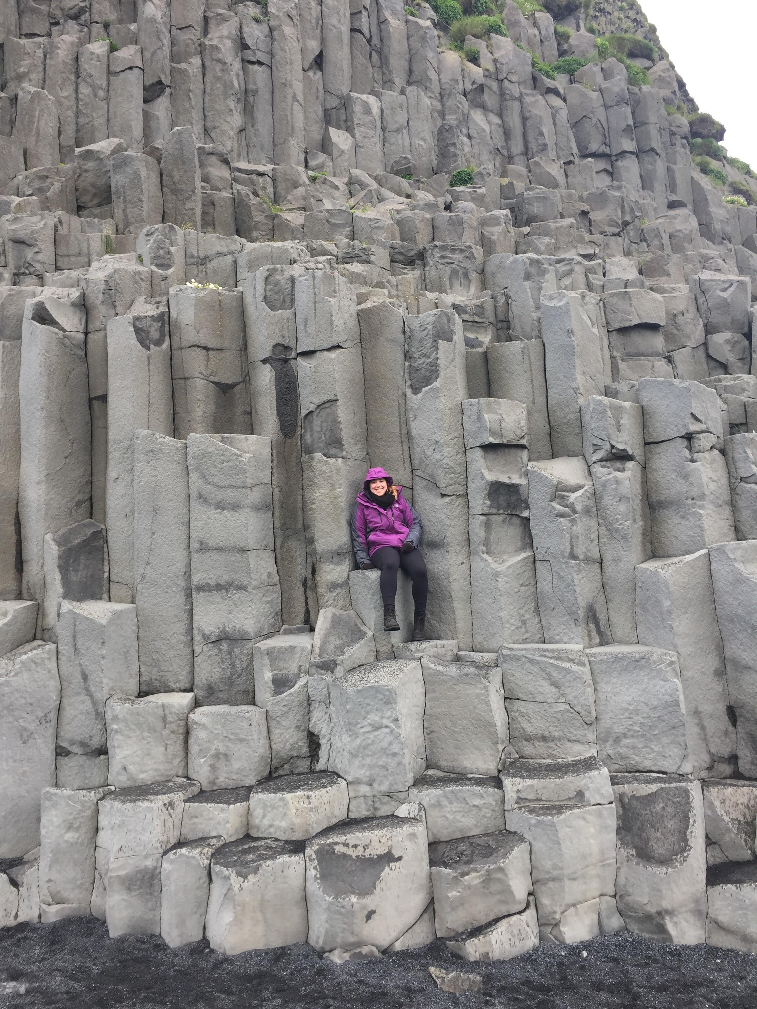 Basalt Columns @ Reynisfjara Black Sand Beach