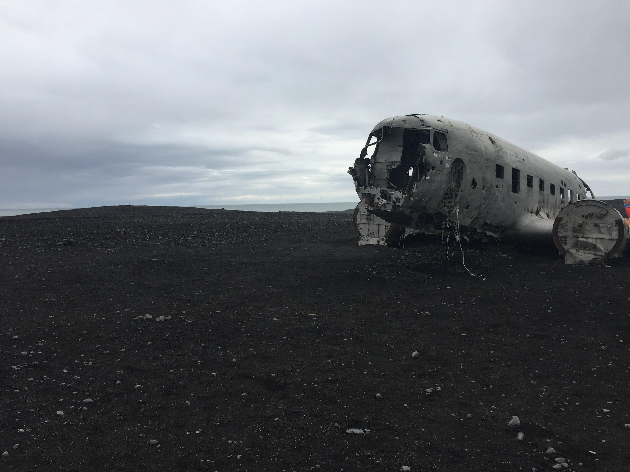 Sólheimasandur Crash