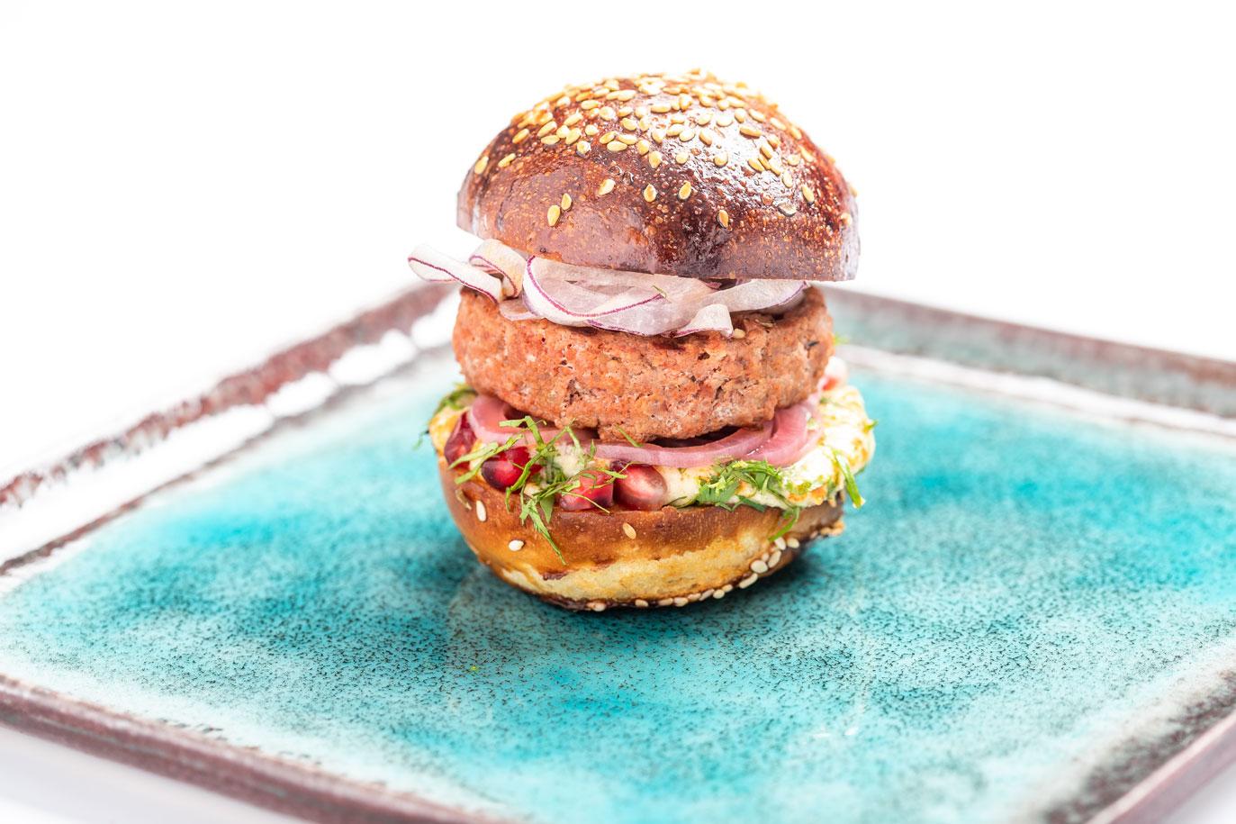 L.E.S.S.-burger 'Marrakech Style' - BISTRO L.E.S.S