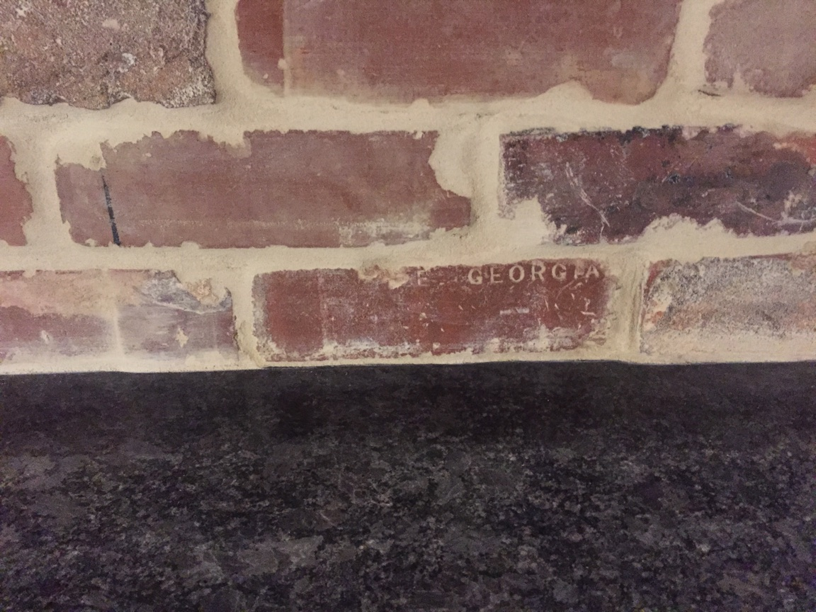 GEORGIA stamped brick