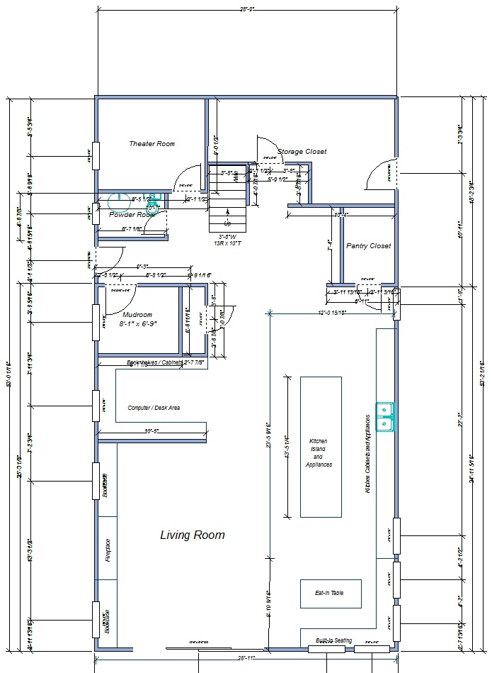 new street floor plans 1st floor kitchen and bath design.jpg
