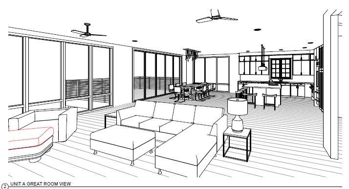 River Side top condo - Unit A Kitchen Elevation.jpg