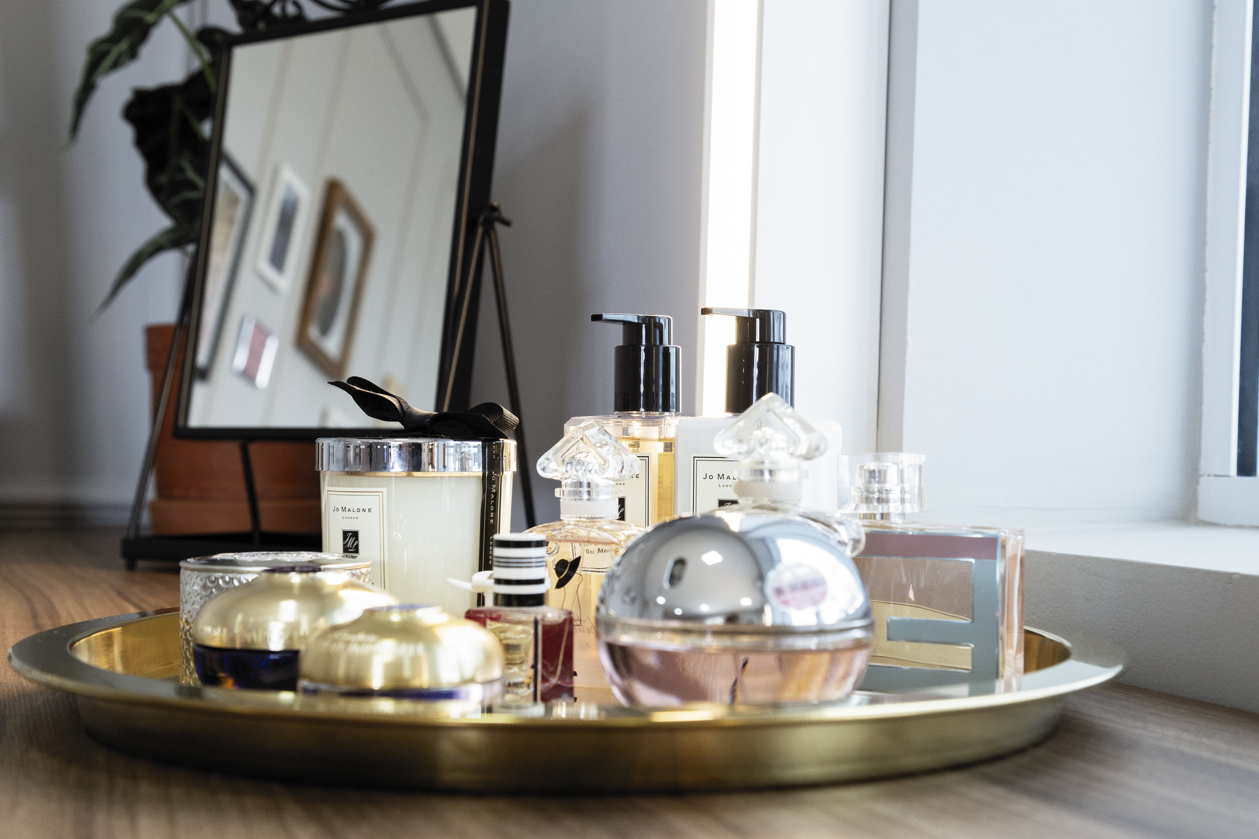 Bandeja de perfumes Alberta