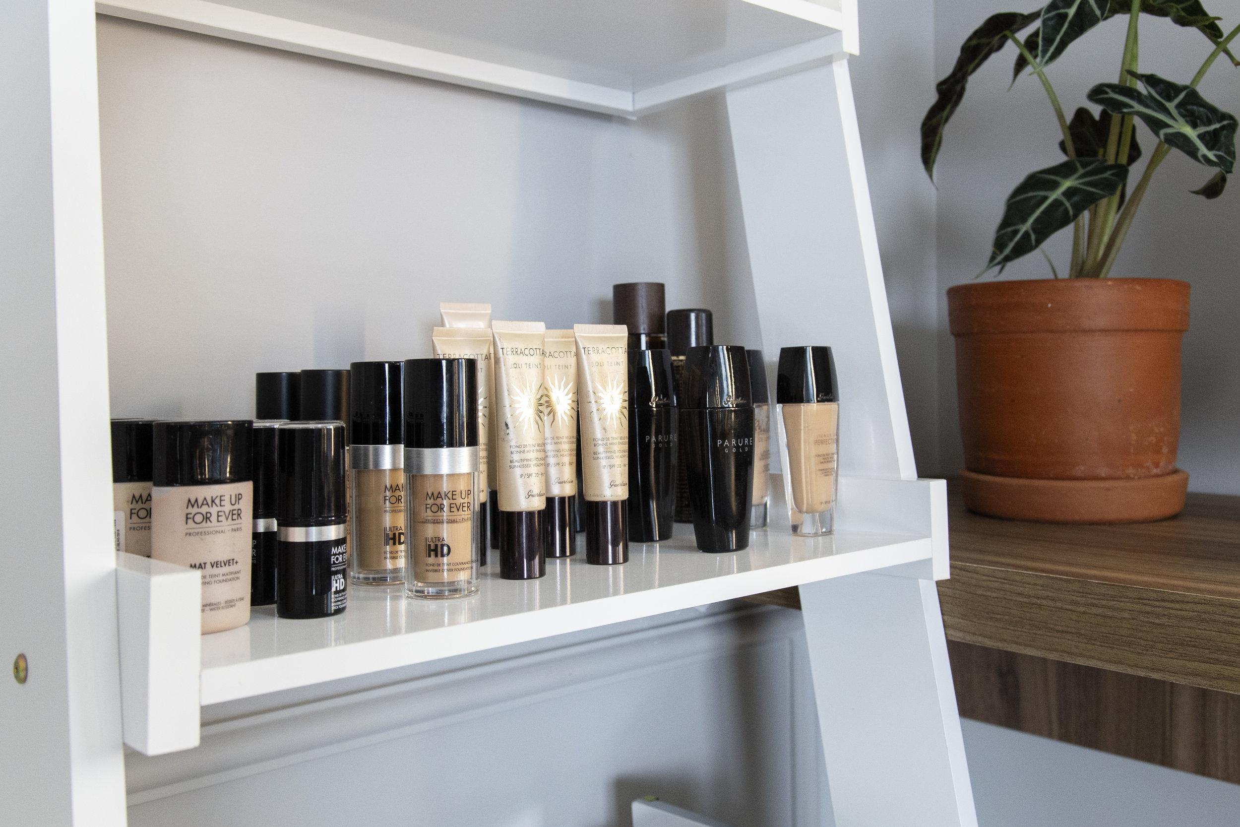Produtos de Maquiagem Alberta