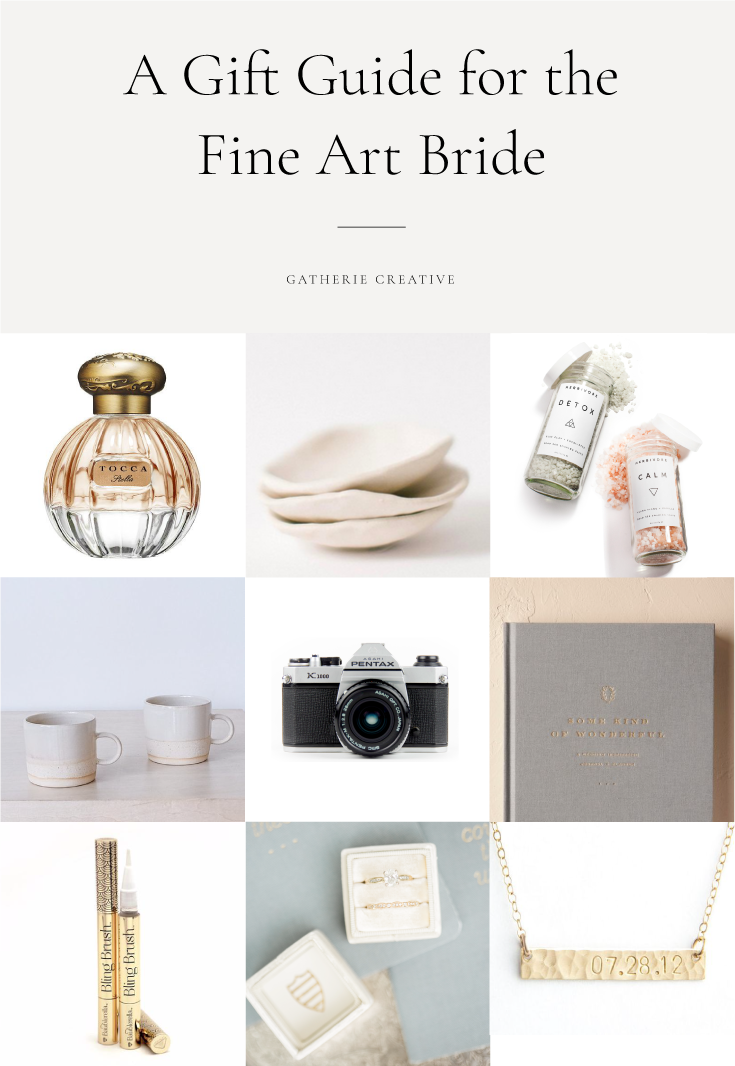 bridal gift guide