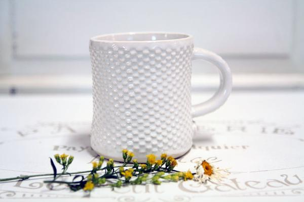 Squatty Quilted Farmhouse Mug