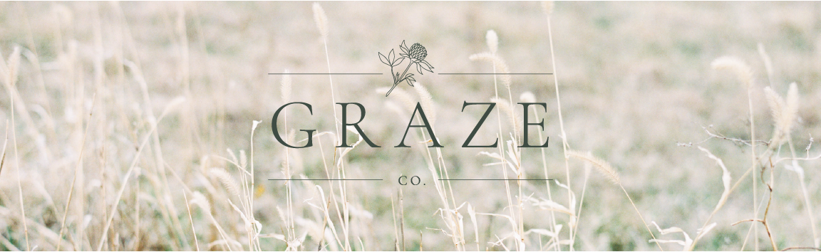 Graze Company Sustainable Farm Branding