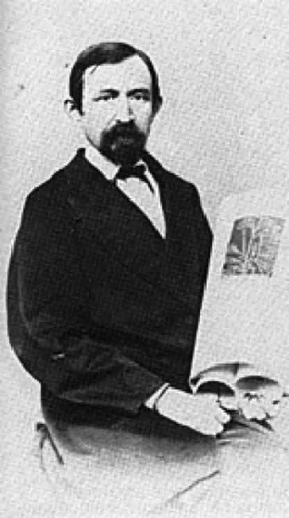 Europaeus kuvattuna Pietarissa 1860-luvun alussa