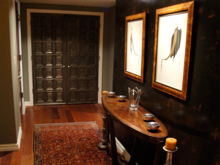 Foyer design, evening