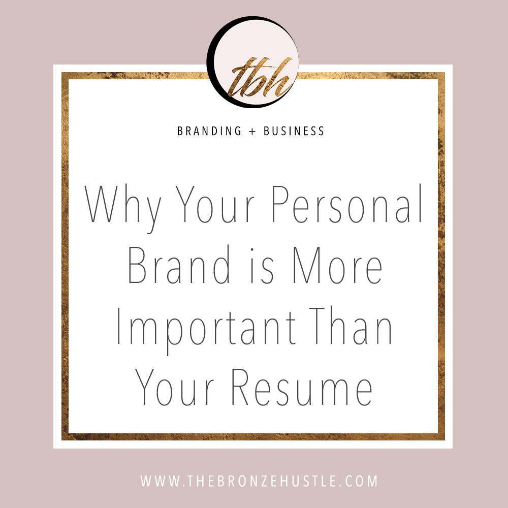 why your personal brand is important