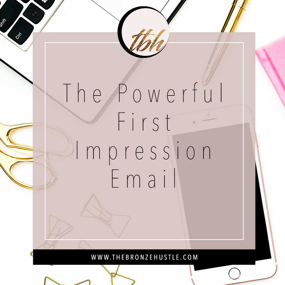 the powerful first impression email