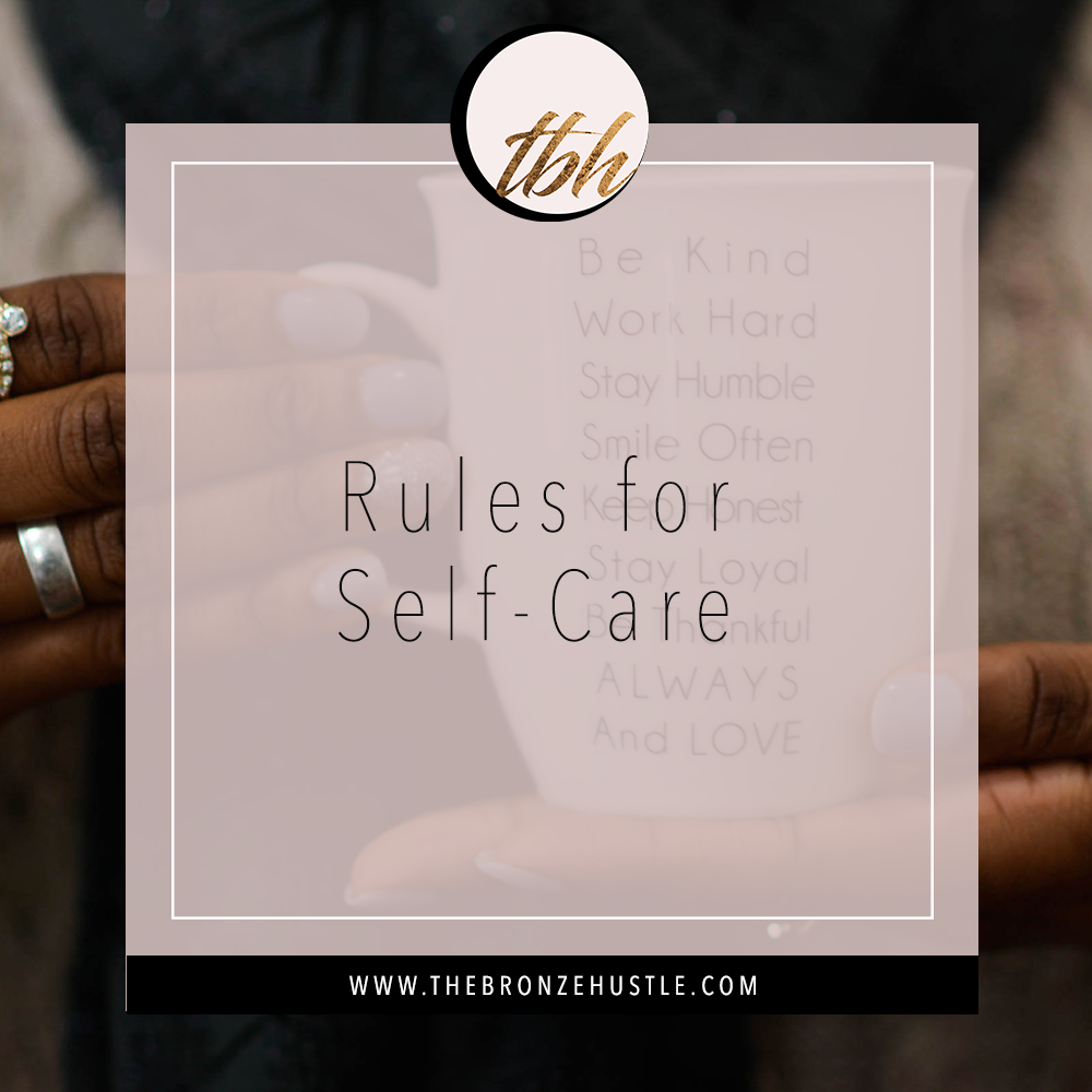 rules for self care